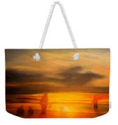Gentle Sunset Vision Weekender Tote Bag