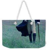 Gentleman Walking In The Country Weekender Tote Bag