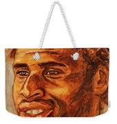 Gentleman With Goatee Weekender Tote Bag