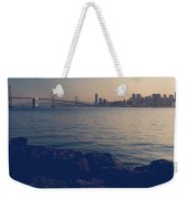 Gently The Evening Comes Weekender Tote Bag