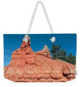 Geological Forces At Red Canyon Weekender Tote Bag