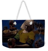 Geological Milk Maid Anthropomorphasized Weekender Tote Bag