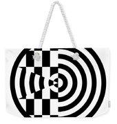 Geomentric Circle 3 Weekender Tote Bag