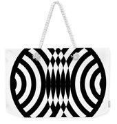 Geomentric Circle 4 Weekender Tote Bag