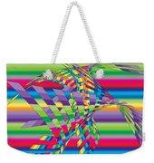 Geometric 3 Weekender Tote Bag by Mark Ashkenazi