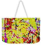 Geometric Abstractions Artwork Colorful Cool Creations Designer Phone Cases 121 Carole Spandau  Weekender Tote Bag