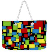 Geometric Art Weekender Tote Bag