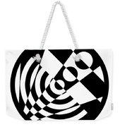 Geometric Circle 5 Weekender Tote Bag