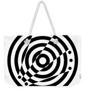 Geometric Circle 6 Weekender Tote Bag