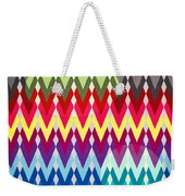 Geometric Colors  Weekender Tote Bag