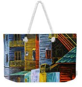 Geometric Colours I Weekender Tote Bag by Xueling Zou