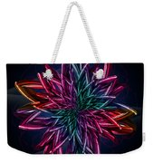 Geometric Flower  Weekender Tote Bag
