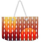 Geometric Fun Weekender Tote Bag by Mark Ashkenazi