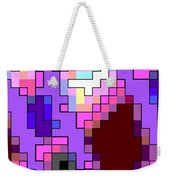 Geometric Pattern Weekender Tote Bag