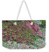 Geometric Shapes Of Nature Weekender Tote Bag
