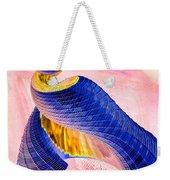 Geometric Shell Art Weekender Tote Bag by Deborah Benoit