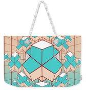 Geometric2 Weekender Tote Bag