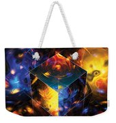 Geometry Amid Chaos Lights Weekender Tote Bag