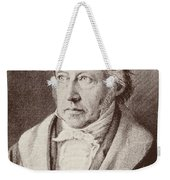 Georg Hegel  Weekender Tote Bag