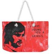 George Best Genius Weekender Tote Bag