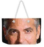 George Clooney Portrait Weekender Tote Bag