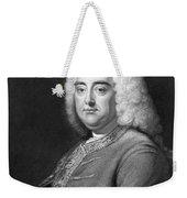 George Frederic Handel Weekender Tote Bag