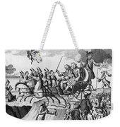 George IIi Cartoon, 1775 Weekender Tote Bag
