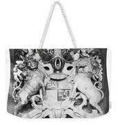 George IIi: Coat Of Arms Weekender Tote Bag