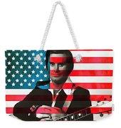 George Jones American Country Weekender Tote Bag