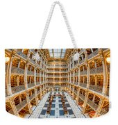 George Peabody Library I Weekender Tote Bag