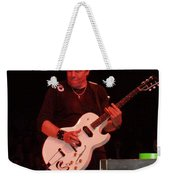 George Thorogood Performing Weekender Tote Bag