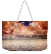 George Town-grand Cayman Rainbow After The Storm Weekender Tote Bag