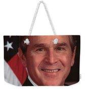 George W Bush Weekender Tote Bag