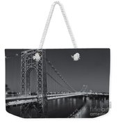 George Washington Bridge Twilight II Weekender Tote Bag