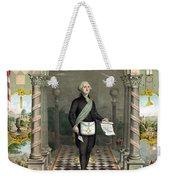 George Washington Freemason Weekender Tote Bag