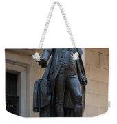 George Washington Statue Weekender Tote Bag
