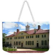 George Washington's Mount Vernon Weekender Tote Bag