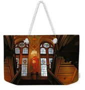 Georgetown's Healy Hall Weekender Tote Bag