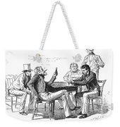 Georgia: Poker Game, 1840s Weekender Tote Bag