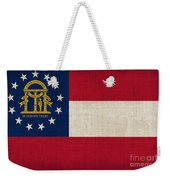 Georgia State Flag Weekender Tote Bag