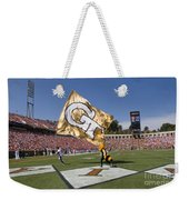 Georgia Tech Touchdown Celebration At Uva Weekender Tote Bag