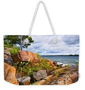 Georgian Bay Weekender Tote Bag