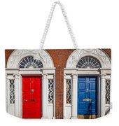 Georgian Doors Weekender Tote Bag by Inge Johnsson