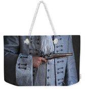 Georgian Gentleman Holding A Flintlock Pistol Weekender Tote Bag