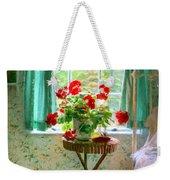 Geraniums In The Bedroom Weekender Tote Bag