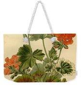 Geraniums Weekender Tote Bag by Philip Ralley