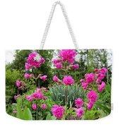 German Catchfly Pink Weekender Tote Bag