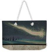 German Comet Illustration Weekender Tote Bag