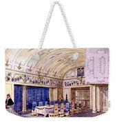 German Dining Hall, Early 20th Century Weekender Tote Bag