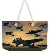 German Heinkel Bombers Taking Weekender Tote Bag